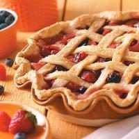 Five-Fruit Pie Photo