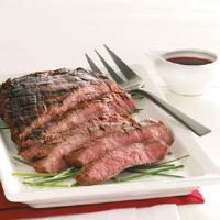 Easy Marinated Grilled Flank Steak Photo