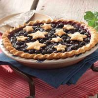 Star-Studded Blueberry Pie Photo