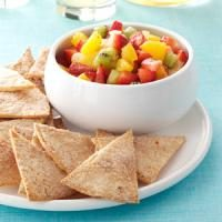 Fruit Salsa with Cinnamon Chips Photo