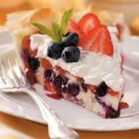 Berry Cheesecake Pie Photo