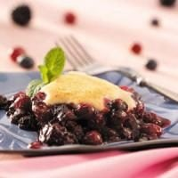 Triple-Berry Cobbler Photo