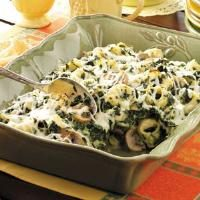 Tortellini Spinach Casserole Photo