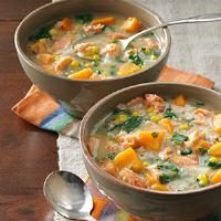 Veggie Salmon Chowder Photo