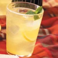 Hint-of-Mint Lemonade