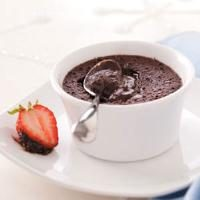 Warm Chocolate Melting Cups Photo