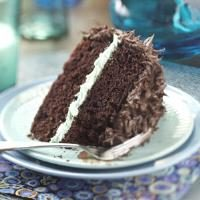 Makeover Chocolate Mint Layer Cake Photo