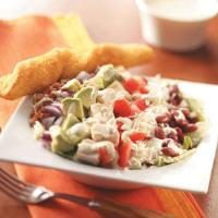 Cobb Salad with Chili-Lime Dressing Photo