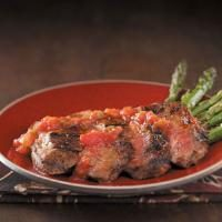 Grilled Red Chili Steak Photo
