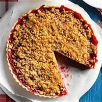 Cherry-Almond Streusel Tart Photo