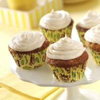 Frosted Banana Cupcakes Photo