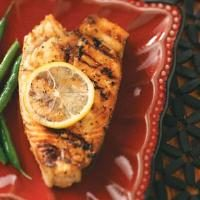 Easy Grilled Halibut Steaks Photo