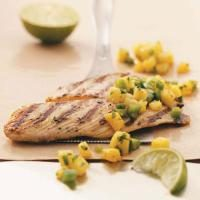 Grilled Tilapia with Pineapple Salsa Photo