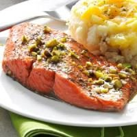 Pistachio Baked Salmon Photo