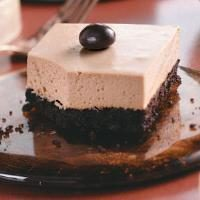 Mocha Cheesecake Bars Photo