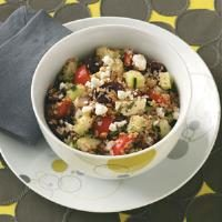 Bulgur Greek Salad Photo