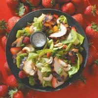 Teriyaki Chicken Salad with Poppy Seed Dressing Photo