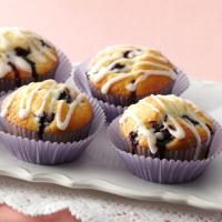 Glazed Lemon Blueberry Muffins Photo