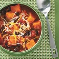 Sweet Potato & Black Bean Chili Photo