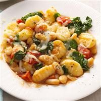Gnocchi with White Beans Photo