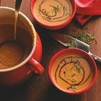 Butternut Squash & Pear Soup Photo