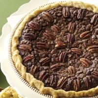Velvety Chocolate Butter Pecan Pie Photo