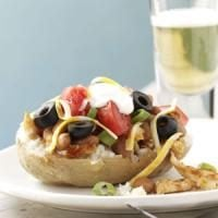 Barbecued Chicken-Stuffed Potatoes Photo