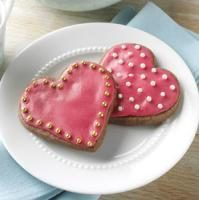 Chocolate-Raspberry Cutout Cookies