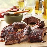 Honey-Beer Braised Ribs Photo