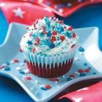 Patriotic Ice Cream Cupcakes Photo