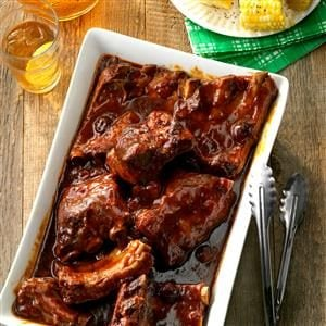 """Secret's in the Sauce"" BBQ Ribs Recipe"