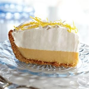 Lemon Cream Pie Recipe photo by Eagle Brand®