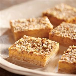 Eagle Brand® Pumpkin Cheesecake Bars