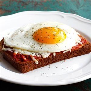 Italian Style Breakfast Toast Recipe