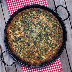 Spinach Gorgonzola Souffle Recipe