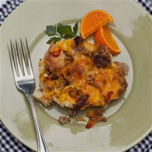 Overnight Sausage Strata Recipe