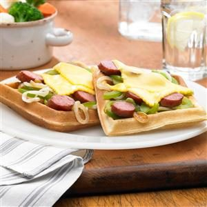 Johnsonville Philly Cheesesteak Waffle