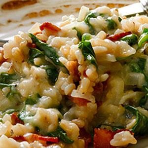 Spinach and Bacon Casserole