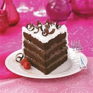 4-Layer Chocolate Torte Recipe