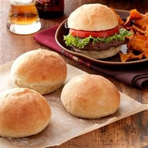 40-Minute Hamburger Buns