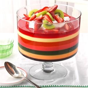 7 Layer Gelatin Salad Recipe