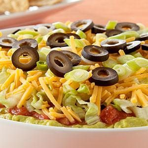 PHILADELPHIA 7-Layer Mexican Dip Recipe