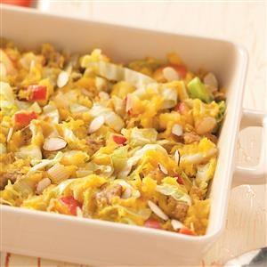 Acorn Cabbage Bake Recipe