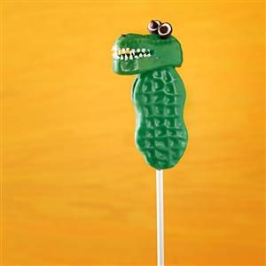 Alligator Cookie Pops Recipe