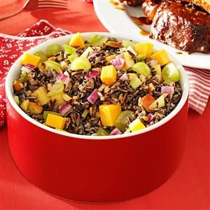 Almond & Apple Wild Rice Salad Recipe