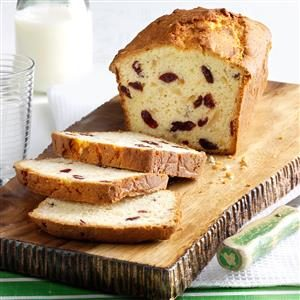 Almond & Cranberry Coconut Bread