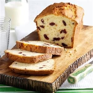 Almond & Cranberry Coconut Bread Recipe