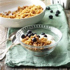 Almond-Chai Granola Recipe