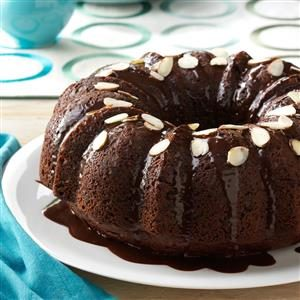 Almond Chocolate Cake Recipe