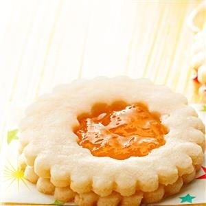 Almond Jelly Cookies Recipe